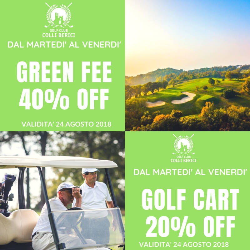 OFFERTA_40_20 News e Gare - Golf Club Colli Berici