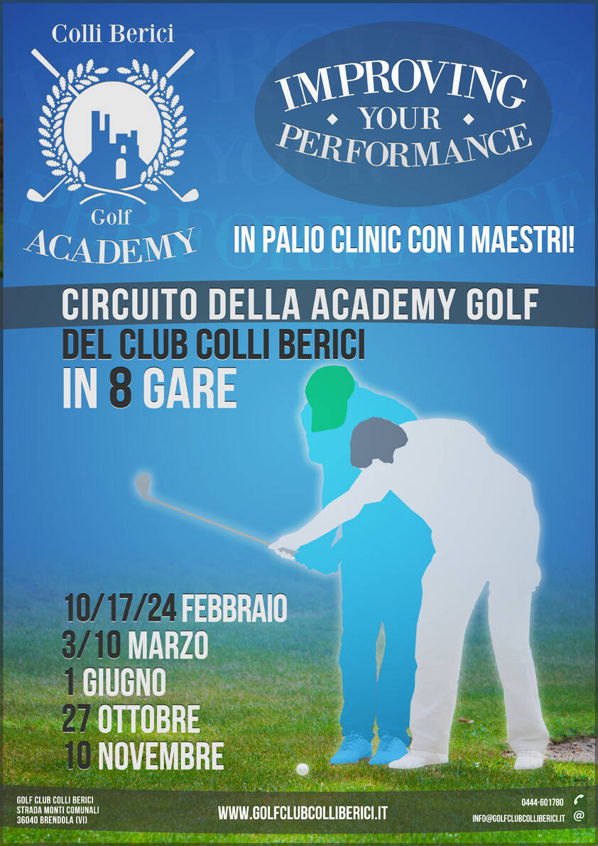 loc_improving_a IMPROVING YOUR PERFORMANCE - Golf Club Colli Berici