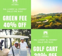 PROMOZIONE SUNSET GREEN FEE E GOLF CART