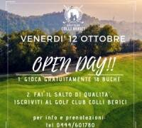 VEN 12/10 OPEN DAY: GREEN FEE GRATUITO PER FUTURI SOCI